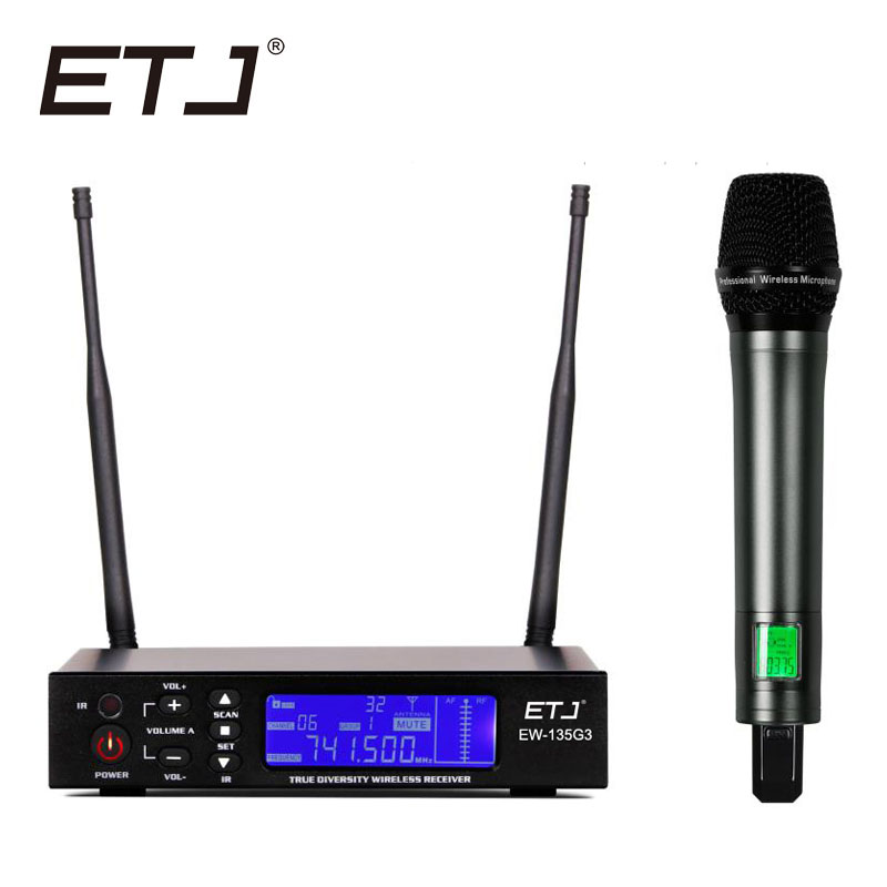 100 top quality ew135g3 hot sales professional wireless single handheld mic ew100g3 uhf pll. Black Bedroom Furniture Sets. Home Design Ideas