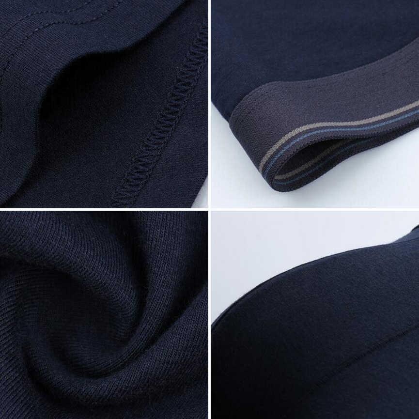 4 adet/grup Erkek Pamuklu Külot Yeni Moda Seksi Marka Kalite erkek Boksörler Şort Yeni Mr Iç Çamaşırı Erkek Külot Büyük yağ 6XL 8XL