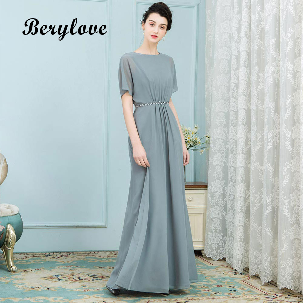 Unusual Mother Of The Bride Dresses: BeryLove Unique Mother Of The Bride Dresses With Sleeves