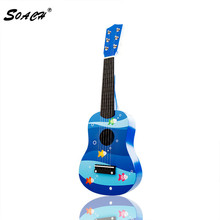 SOACH 2016 new Children guitar animal floral motifs ukulele guitar factory direct wholesale GD18 bass acoustic guitar 6-string