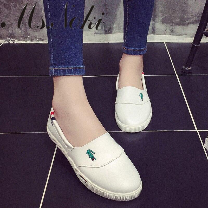 del otoño del verano mocasines planos de los nuevos zapatos para mujer Resbalón