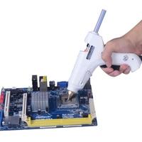 60W Professional Hot Melt Glue Gun High Temp Heater Heat Repair Tool With Free 20pcs Hot