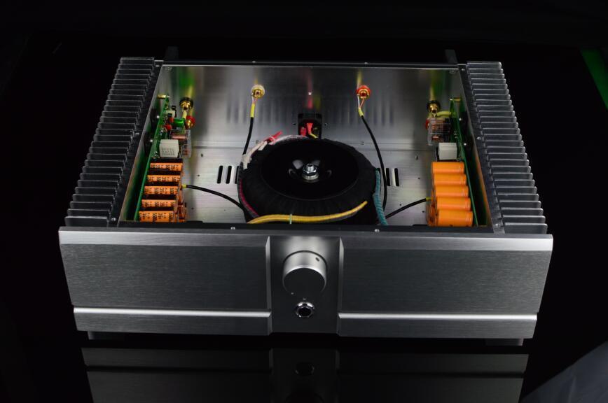 ZEROZONE (DIY Kit) PA3 Class A Stereo amplifier kit 30W+30W base on PASS A3 amp L4-25