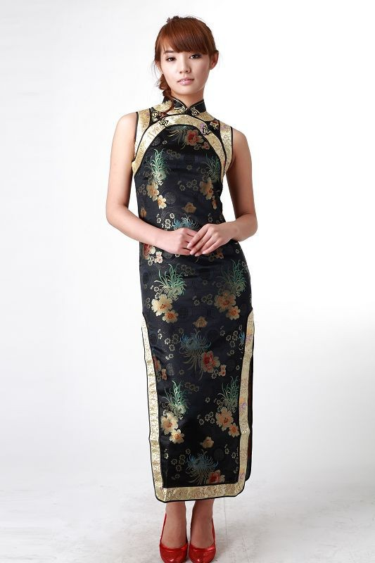Sexy Traditional Chinese Clothing Women  s Mini Cheongsam Qipao Dress  Flower Plus Size S M L XL XXL XXXL 4XL 5XL 6XL. J6005 J6006 J6010 d4adf71cea79