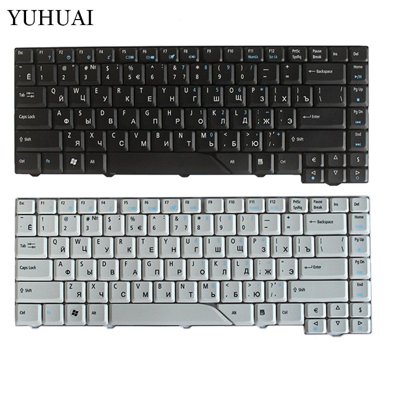 Russian Laptop Keyboard for Acer Aspire 4710 5310 4210 4220 4520 4720 4920 5220 5520 5710 5720 5910 5920 5930 6920 RU for acer 7220 7520 5315 5720 7720 5520 5310 laptop cpu fan