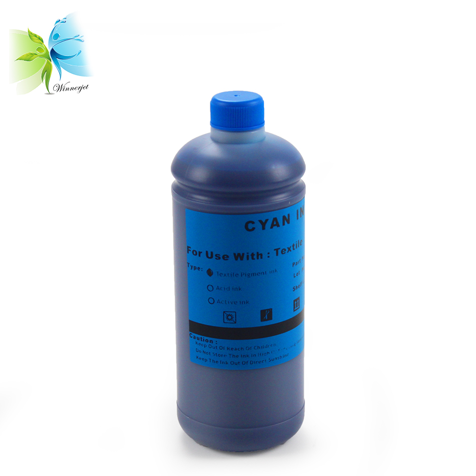 Winnerjet Direct To Garment DTG Textile ink for Epson stylus pro 1390 1400 1410 1430 printer C M Y K White in Ink Refill Kits from Computer Office
