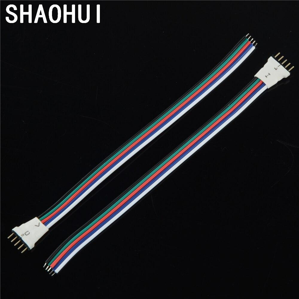 5 teile/los 5pin Männlichen Typ Led Streifen anschluss draht kabel ...