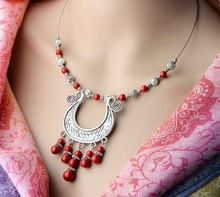 Gros Collier Femme Gypsy Ethnic Turkish Jewelry Choker Bohemian Vintage Tassel Coin Long Necklace Sweater Chain