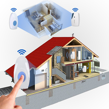 36 Tune Chimes Songs Waterproof LED Wireless Doorbell Remote Control Door Bell
