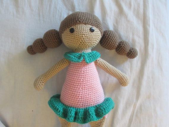 Häkeln Mädchen Und Puppen In Handmake Super Nette Amigurumi Häkeln