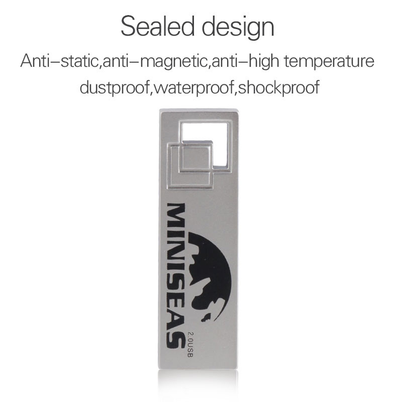 Miniseas Clés USB 2017 Cool Metal 8 Go 16 Go 32 Go Stylo Pendrive - Stockage externe - Photo 6