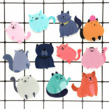 Girls Fashion Wanita Perhiasan Lucu Trendy Cat DIY Pakaian Hiasan Pin Kreatif Indah Hadiah Badge Bros(China)
