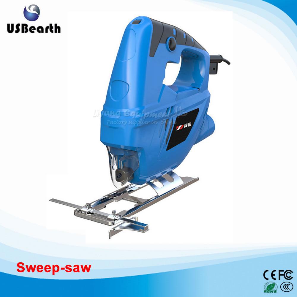 Household electric sweep-saw DIY cutting machine woodworking dust-free saw metal band jig saw sweep saw small woodworking for beads wood cutting q10027