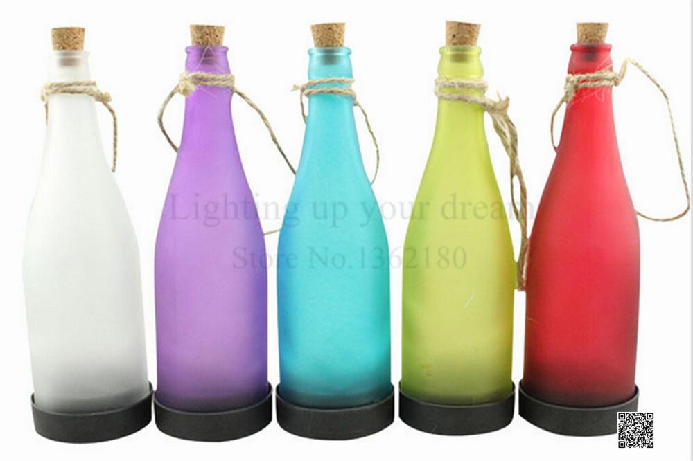 Led Kronleuchter Outdoor ~ Wasserdichte solarleuchte led hängen flasche lichter garten