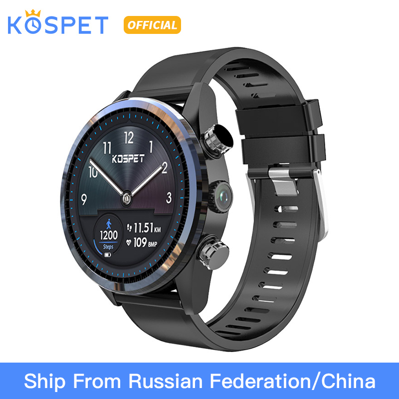 KOSPET Hope Lite 1GB 16GB Android7 1 1 Dual 4G 1 39 AMOLED Smartwatch men WIFI