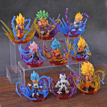 Figuras chibi Super Saiyan de Dragon Ball (9cm) Figuras Merchandising de Dragon Ball