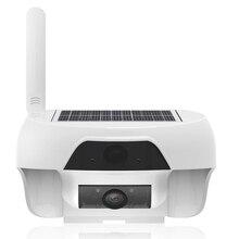 720 P Solaire Mobile WiFi PIR Caméra avec Infrarouge LED pour L'extérieur IP55 Étanche Motion Détecter et À Distance Réveil par APPLICATION Gratuite
