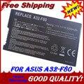 6 celular bateria do portátil para Asus A32-F80 F5 F50Z F80 X80 X80 X81 F83 A32-A8 A32-F80A A32-F80H A32-F80 90-NF51B1000Y 70-NF51B1000