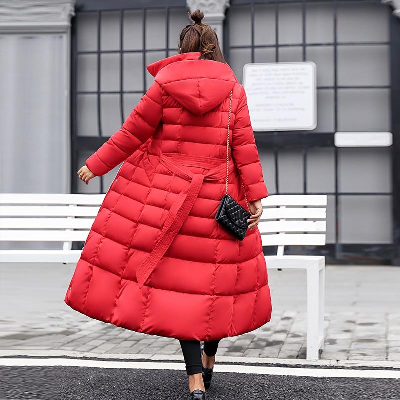 marron Coton Outwear Nouveau S army Green Vêtements Manteau gris 2019 Veste En xxxl Beige D'hiver Femmes Épaississement Parka noir rouge wOn0Pk