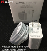 Original Huawei Mate 9 Pro P10 SuperCharge Charger,Qualcomm Quick Charge 3.0 Usb Wall Fast Charger Adapter +Type C Cable