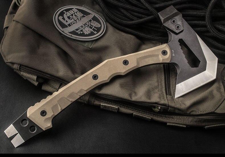 engenheiro tático machado, arma de campo acampamento