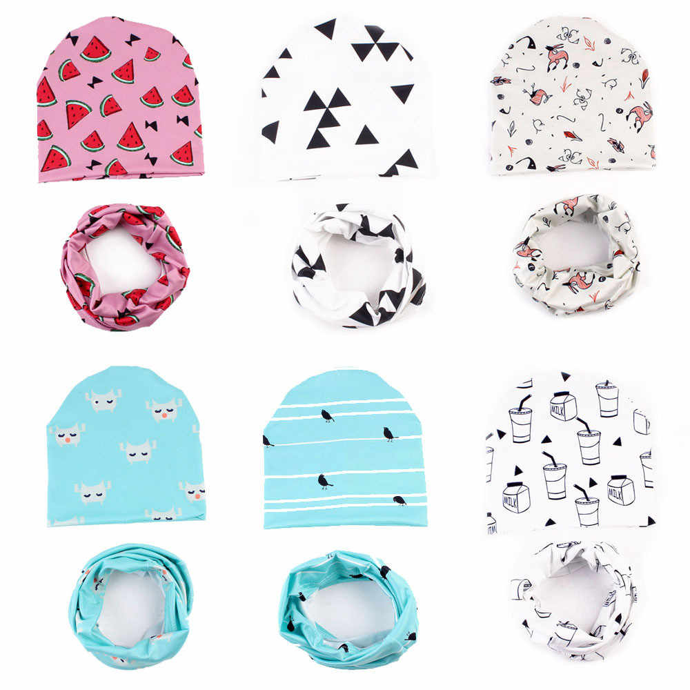 Baby Summer Hat Printing Cute Kids Girls Boys Caps Toddler Fashion Hats Newborn Beanie Hat Children Sun Cap