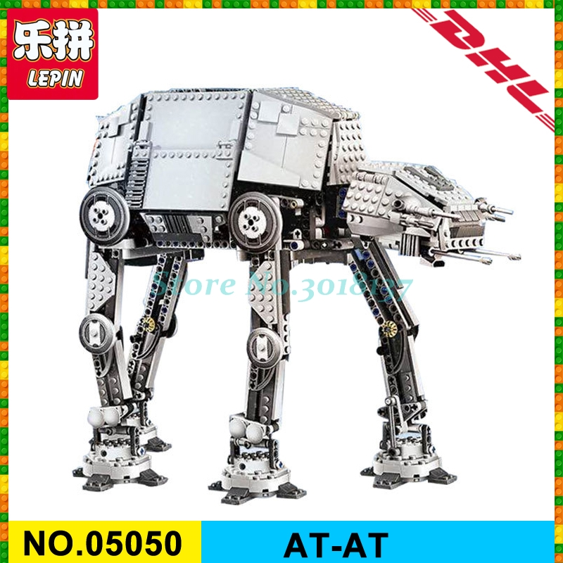 LEPIN 05050 Star Series War AT- AT Robot Electric Remote Control Building Blocks Toys Kids Gift Bricks Toys compatible 10178