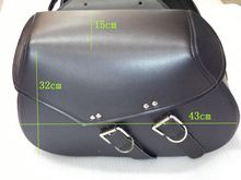 Free shipping Motorcycle Bag modified cruiser steed 400 chartered side saddle bag kit bag side side box
