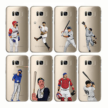 soft silicone phone cases cover baseball cartoon Bryce Harper for Samsung Galaxy Note 8 9 S6 S7 S8 S9 s10 edge plus c7 c9 c5