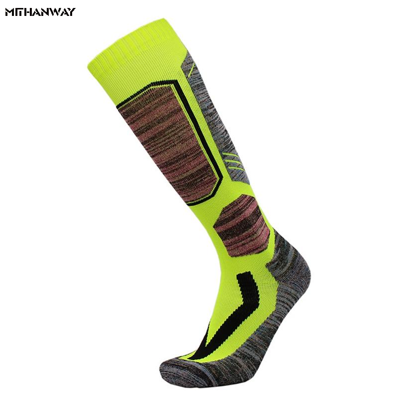 2018 Ski Socks Football Soccer Sock Cotton Men Women Cycling Snowboard Sport Socks Skiing Socks Top Quality
