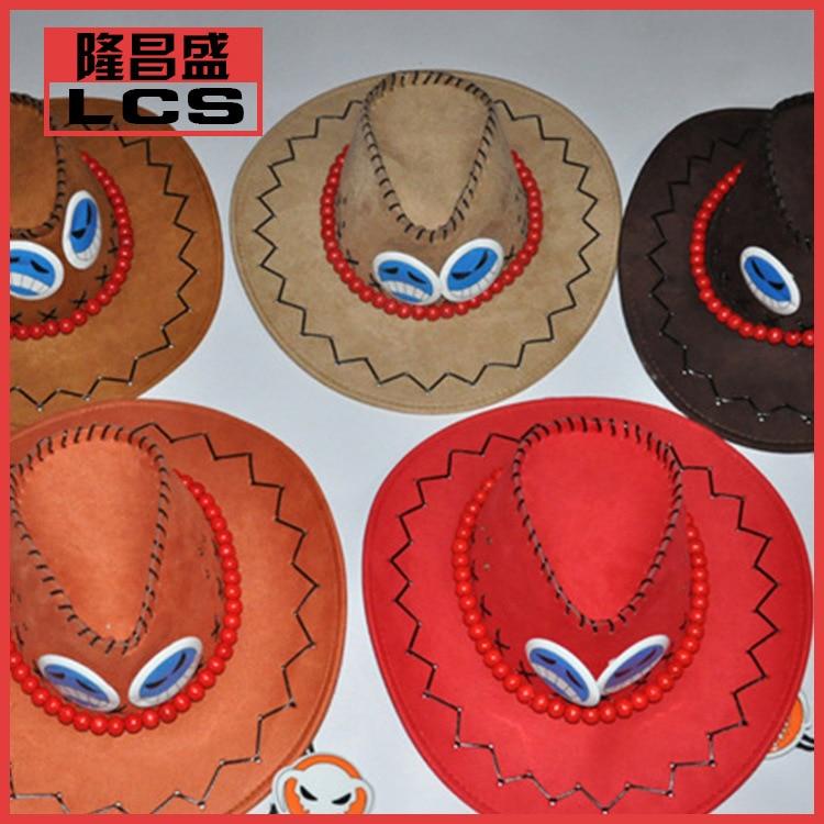 One Piece Hat PortgusDAce Cosplay Hat Adult /Men Women  Anime Cartoon Cosplay Hat