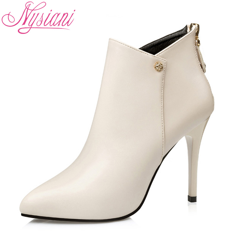 Women's Buckle Fashion Spring & Fall Elegance Sexy Platform High Heel Short Boots