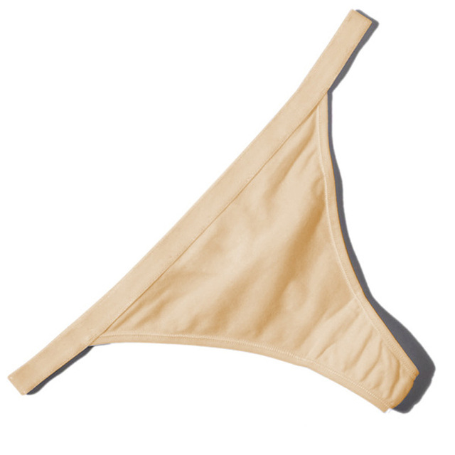 Hot Sale Sexy Women Cotton G String Thongs Low Waist Sexy Panties Ladies' Seamless Underwear Black Red White Skin