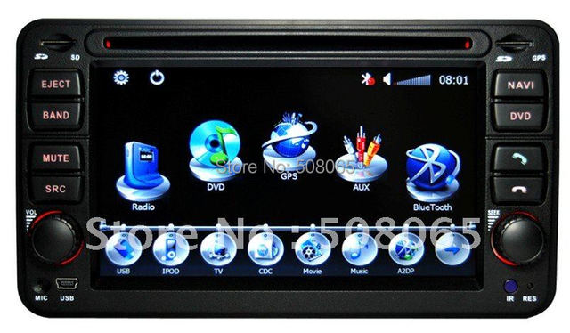 7.0 inch touch screen car dvd player for Suzuki Jimny with DVD/BT/TV/FM/IPOD/RDS/GPS-8715