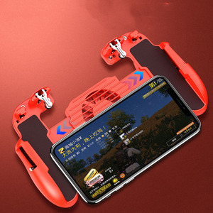 Image 5 - Hot Sale Game Controller Game Assistance Handle For PUBG Mobile2000mAh Emergency Charging Cooling 3 in 1