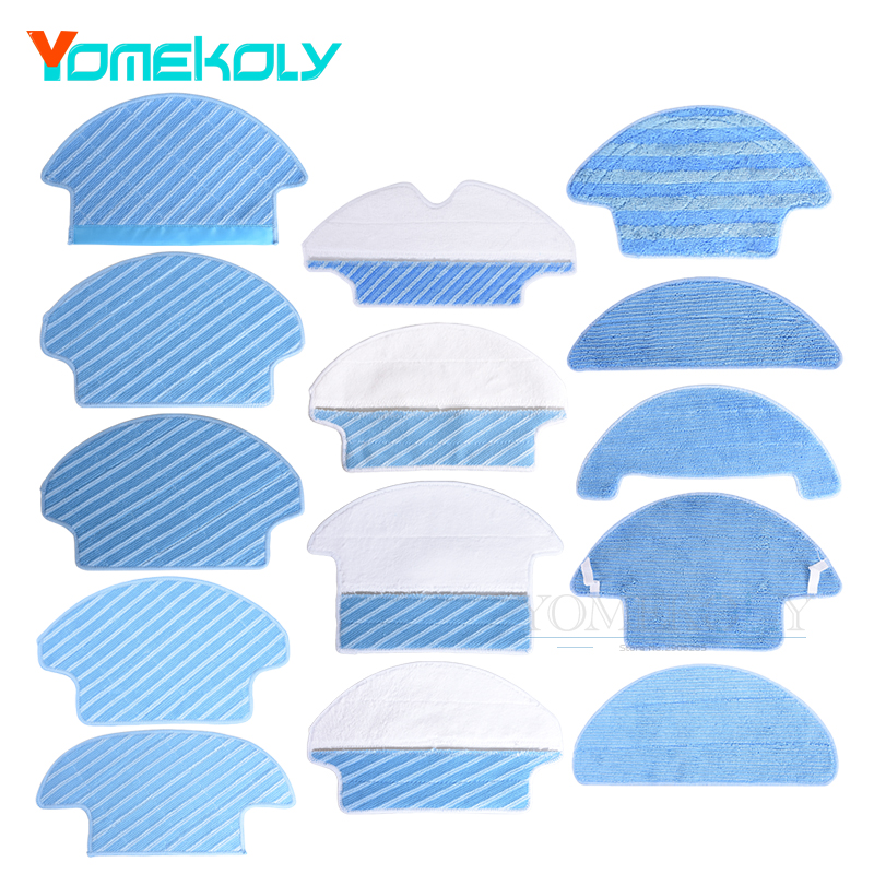 Mop Cloths for Ecovacs Vacuum Cleaner CEN540 CEN330 DJ5 DN78 DR95 DM80 DT85 DT85G Mopping Cloth Pads Spare Parts цены