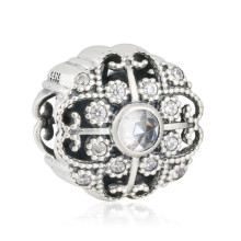 af1830544 2018 Autumn Collection 925 Sterling Silver Fairytale Bloom, Clear CZ charm  beads Fit Original Pandora