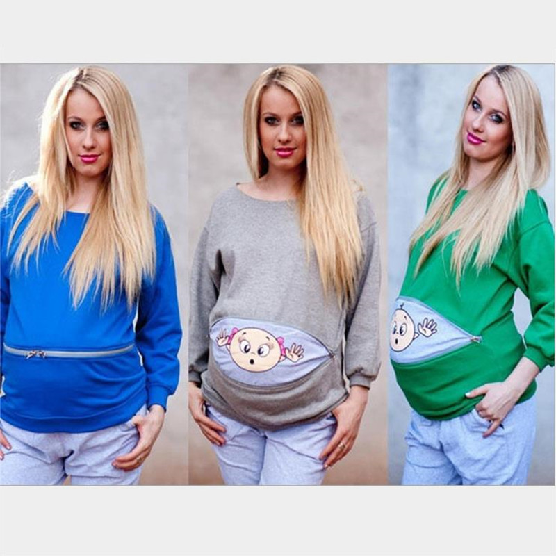 3db757a5 fashion New Maternity pregnancy clothes baby Print Funny Maternity pregnant  T Shirt Plus size European pregnancy Shirt clothes-in Tees from Mother &  Kids on ...