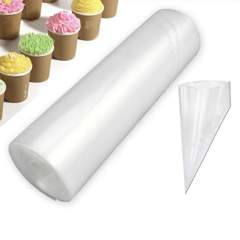 50 Pcs/roll Large Size Disposable Piping Bag Icing Fondant Cake Cream Decorating Pastry Tip Tool Fondant Molds Cake Decorating