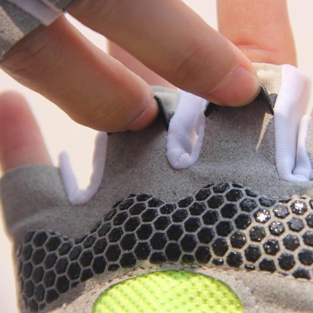 Esportes masculinos e femininos gel 3d acolchoado luvas antiderrapantes ginásio fitness levantamento de peso construção do corpo exercício treino crossfit