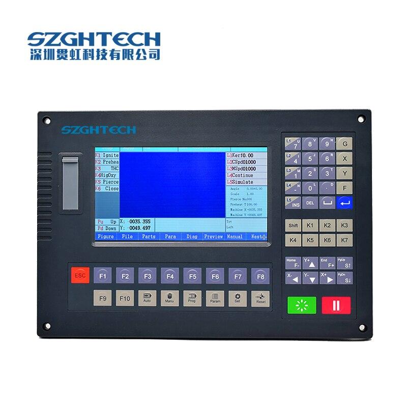 Contrôleur de CNC de 2 axes pour le coupeur de flamme de coupe de plasma coupeur de laser de GH-2012AH de précision