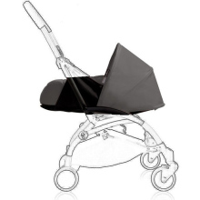 Sommer Luksus Barnevogn Bil Sæde Bassinet Carrycot Folding Rejsesystem Infant Prams 3 I 1 Doll Toy Pushchair Jogger Buggy