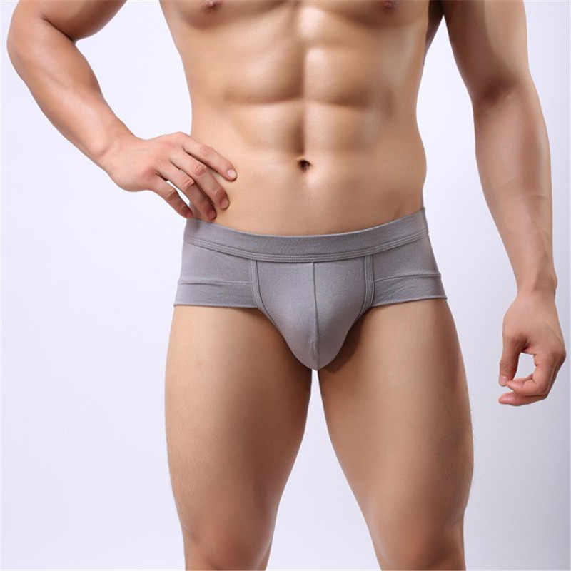 be8b5bdb27 ... Brand Sexy Men 2018 Fashion Comfortable Guys Bulge Pouch Underwear  Boxer High Elastic Trunks Shorts Panties ...