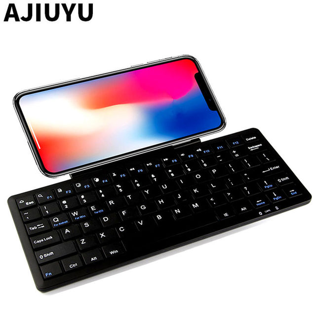 the best attitude 0db79 fcc15 US $27.67 |Bluetooth Keyboard For iPhone X 8 8 Plus iphone 7 Plus 6 6sPlus  6plus 5 5S SE 5c Mobile Phone Wireless Bluetooth keyboard Case-in Keyboards  ...