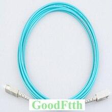 Fiber Patch Cords Jumpers SC SC OM3 Simplex GoodFtth 1 15m 6pcs/lot