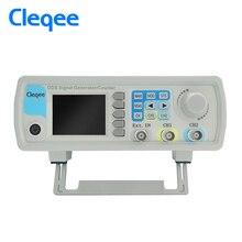 Cleqee jds6600-60m jds6600 серии 60 мГц цифровой Управление двухканальный DDS Функция генератор сигналов частотомер произвольное