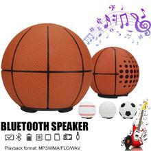 무선 미니 스피커 야구 농구 축구 골프 공 모양의 혁신적인 플러그 카드 야외 오디오 장치 무선 mp3