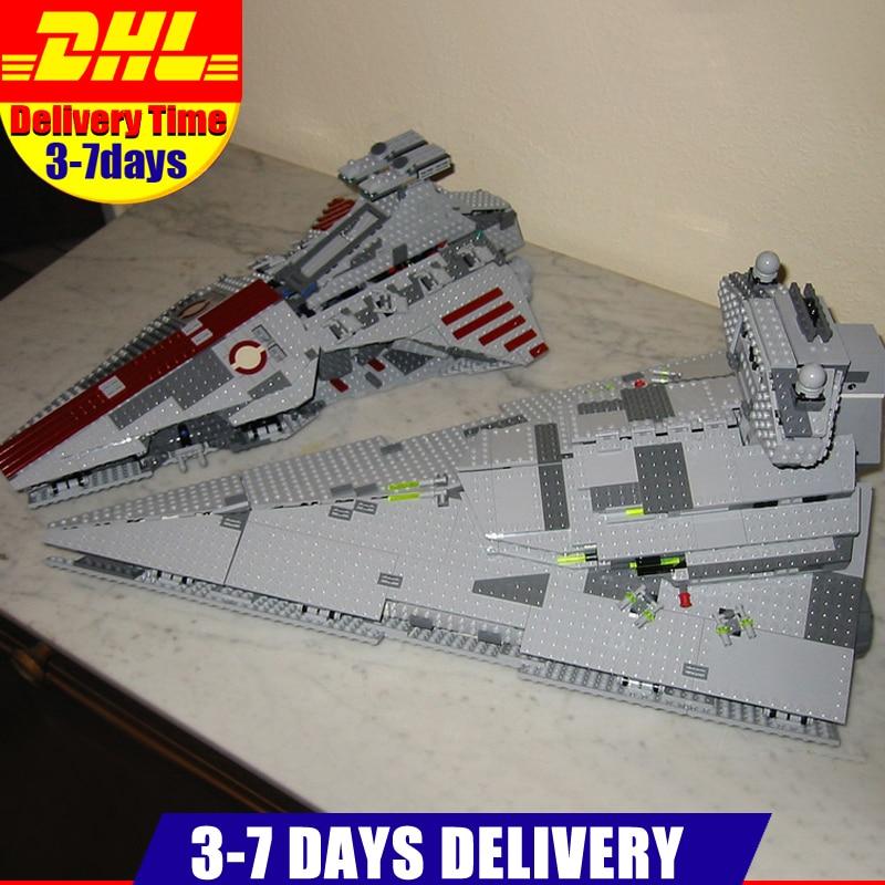 все цены на LEPIN 05042 Star 1200PCS Series Wars The Republic Fighting Cruiser +05062 The Imperial Super Star Destroyer Set Clone 8039 75055 онлайн