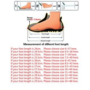 Image 5 - Surego 2020 جودة عالية انقسام جلد الرجال أحذية عالية أعلى دراجة نارية الخريف الشتاء أحذية رجل أفخم حذاء الثلج عالي الرقبة دافئ حجم 37 ~ 48