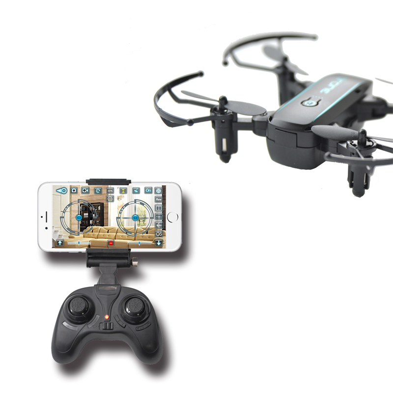 FEICHAO 1601 Mini Drones with Camera HD 0.3MP 2MP Drone Foldable Real Time Video Altitude Hold WIFI FPV RC Quadcopter Toys Dron 6